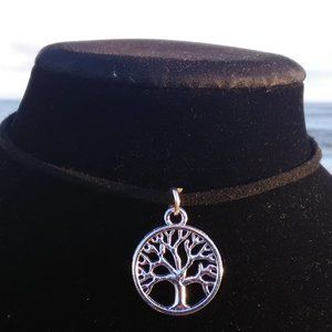 Silver Tree of Life Necklace #C